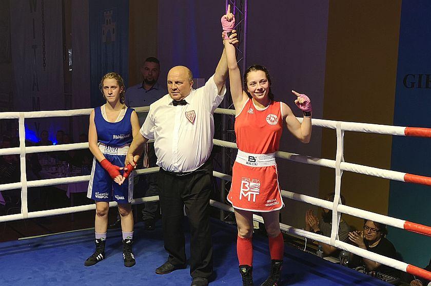 Milena Mandziej (Garda Gierałtowice) vs Oliwia Dziekańska (Włókiennik Łódź)