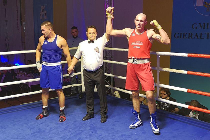 Wojciech Czarkowski (Garda Gierałtowice) vs Petr Wzientek (Bochumin Czechy)