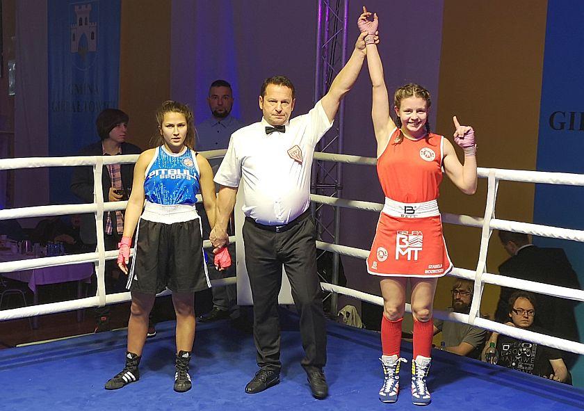 Izabela Rozkoszek (Garda Gierałtowice) vs Dominika Kosycarz (Grappling Kraków)