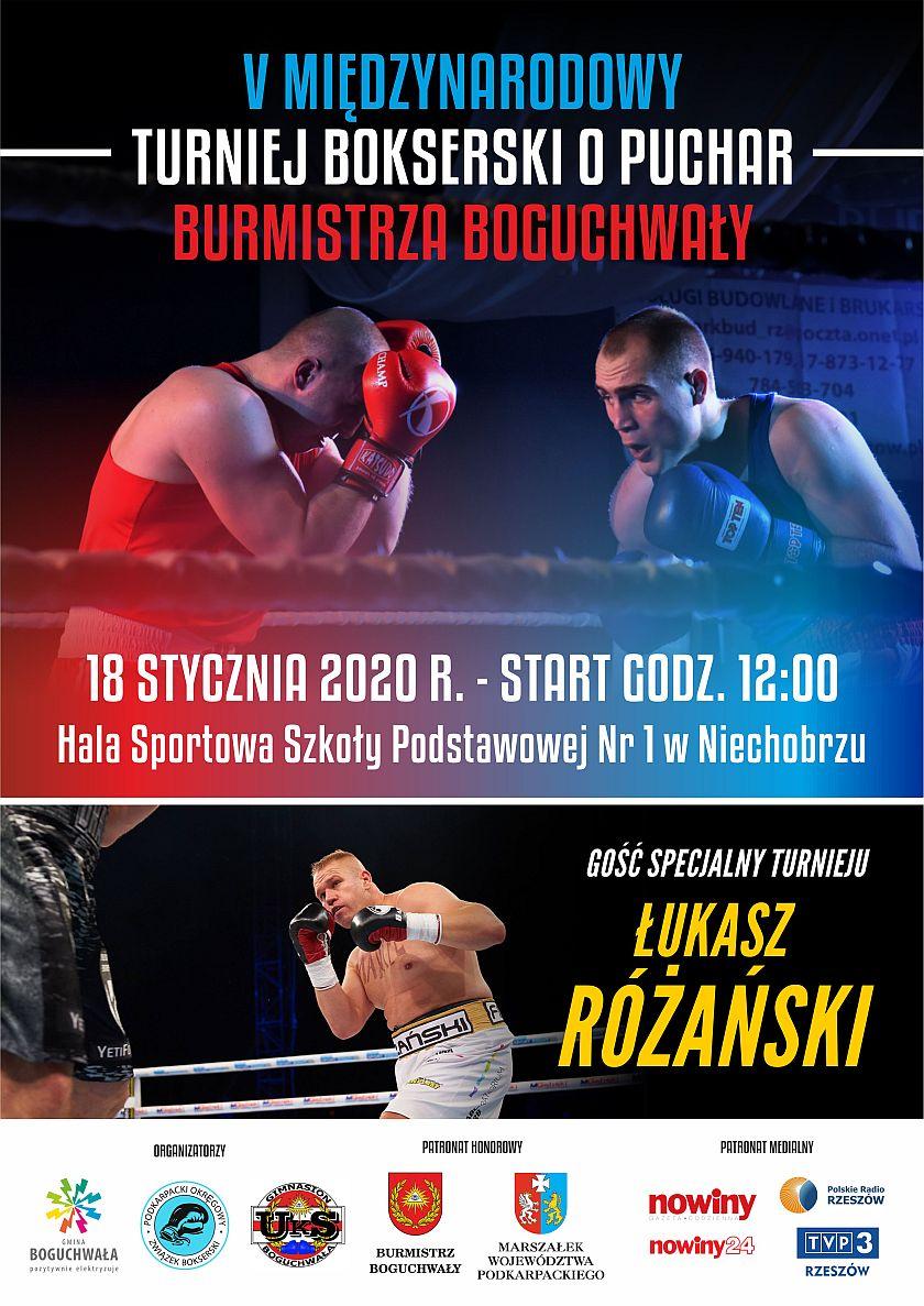 V Ogólnopolski Turniej o Puchar Burmistrza Boguchwały - Hala Niechobrz - Andrzej Niedziałek