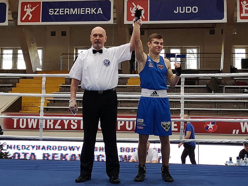 63kg Volodymyr Kizyma (Red Fighters Jelenia Góra) vs Bartłomiej Przybyła (JKB Jawor Team Jaworzno)
