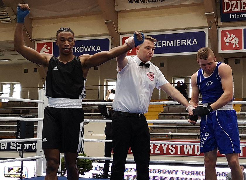 69kg Zidane Semedo (Francja) vs Piotr Motyka (TOP Bolesławiec)