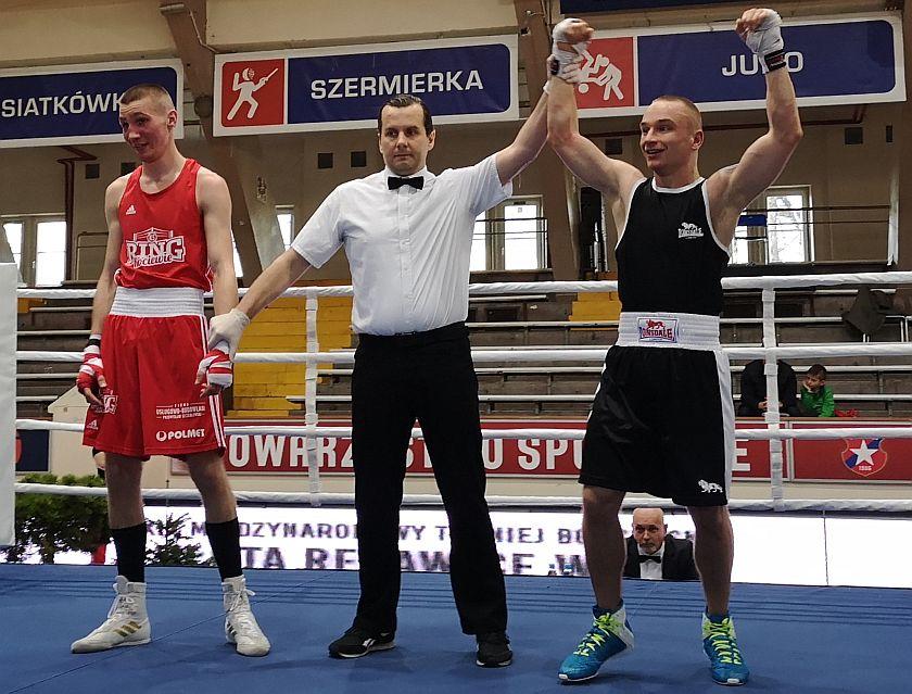 69kg Dawid Oelrich (Ring Kociewie) vs Miłosz Edelmuller (Golden Team Nowy Sącz)