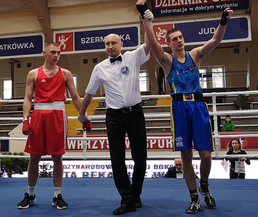 69kg Adam Huszek (OKB Odra Opole) vs Daniel Piotrowski (CKB Potężnie Ciechocinek)