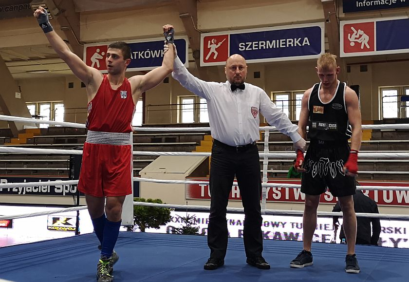 75kg Bartek Skórka (KKS Sporty Walki Poznań) vs Kamil Ptaszek (Niezrzeszony MZB - Nowy Sącz)