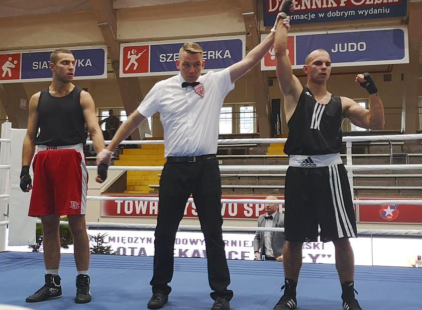 75kg Adnan Al.Naser (Tiger Tarnów) vs Wiktor Czopek (Akademia Boksu Gortata)