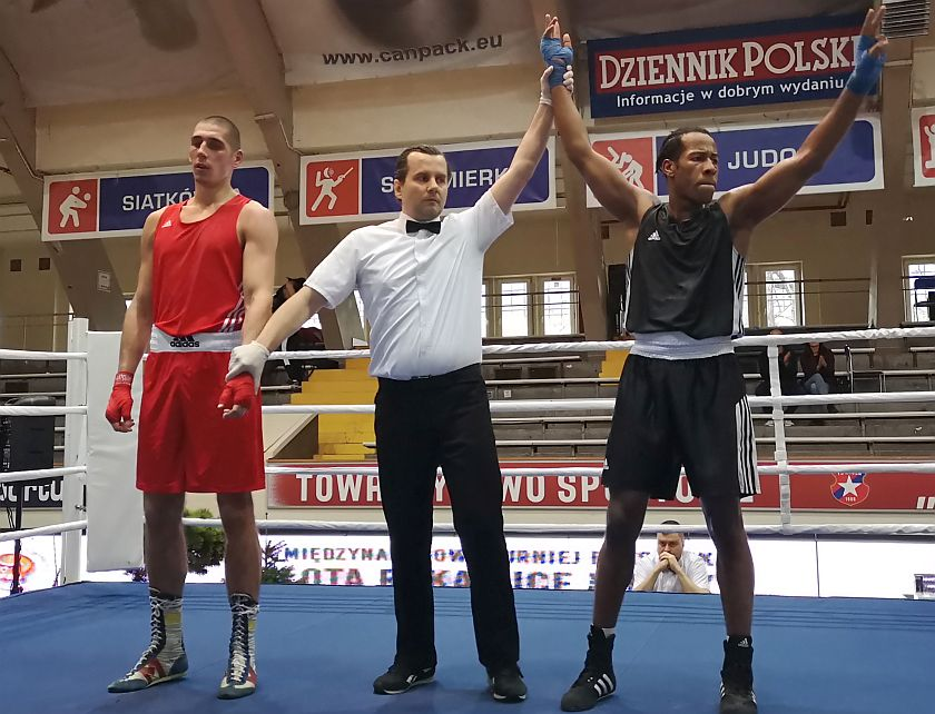 81kg Tomas Zajac (Słowacja) vs Ralph Etienne (Francja)