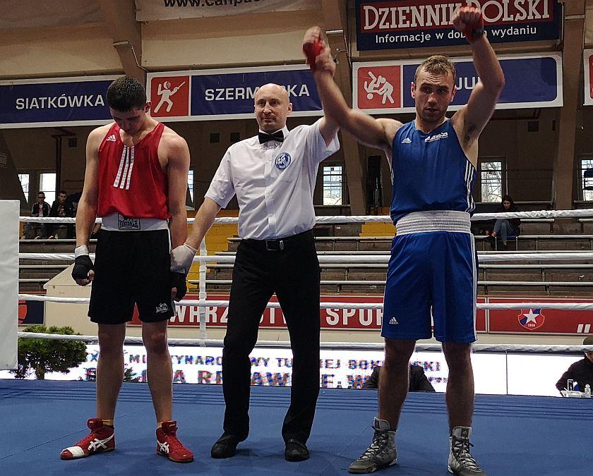 81kg Bartłomiej Dmowski (UKS Feniks Warszawa) vs Klemens Szczepaniak (Tiger Tarnów)