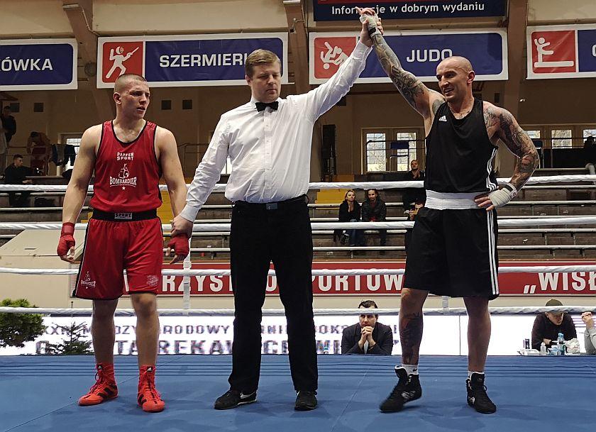 91kg Jakub Stępiński (WKS Bombardier Wrocław) vs Tomasz Kot (Guernsey - Anglia)