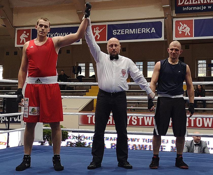 +91kg Damian Knyba (BSB Astoria) vs Grzegorz Mikuła (Fenix Fight Club)