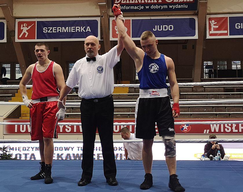 75kg Michał Ożga (SB Tomaszów Lubelski) vs Aleksander Soja (Boxing Team Gosiewski)