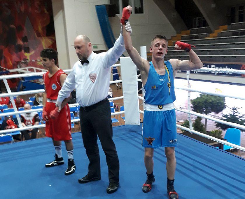 52kg Farid Amanov (Azerbejdżan) vs Oskar Dębinski (Polska)