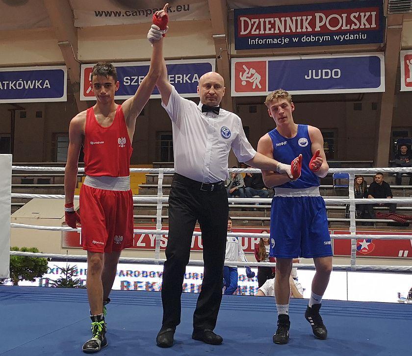 60kg Piotr Niewiadomski (Wisła Kraków) vs Marian Wesołowski (06 Kleofas Katowice)
