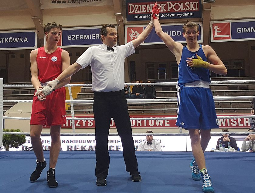 69kg Filip Colkos (06 Kleofas Katowice) vs Jakub Baranowski (Gwardia Wrocław)