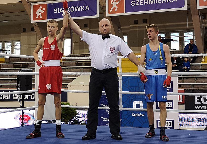52kg Gabriel Blezień (Polska) vs Oskar Dębinski (Polska)