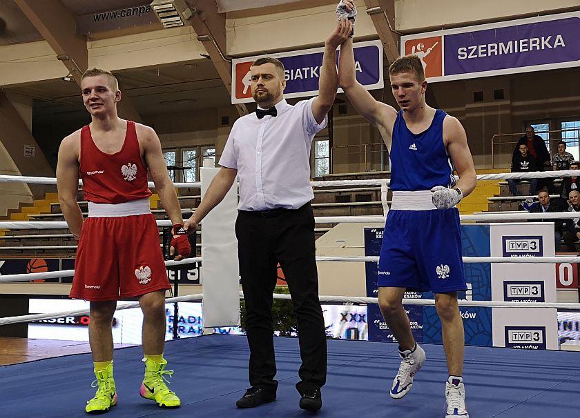 64kg Krystian Szymański (Polska) vs Oliwier Zamojski (Polska)