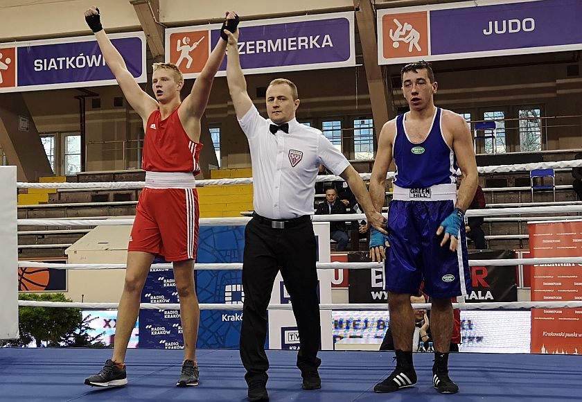 81kg Maksym Havryshchuk (OKB Odra Opole) vs Wojciech Dyrkacz (Stal Rzeszów)