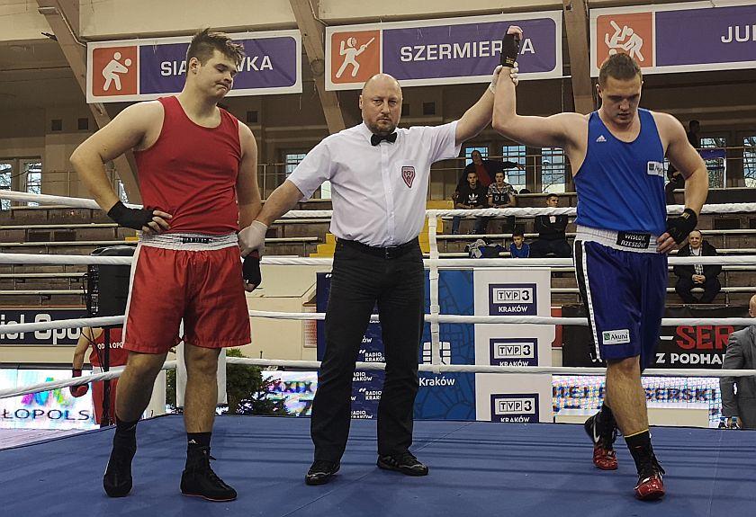 +91kg Szymon Golonka (Superfighter Nowy Sącz) vs Szczepan Szmyd (Stal Rzeszów)