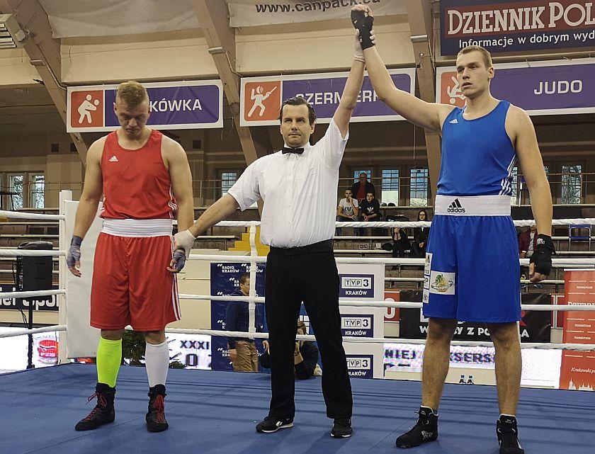 +91kg Łukasz Banach (OKB Odra Opole) vs Damian Knyba (BSB Astoria Bydgoszcz)