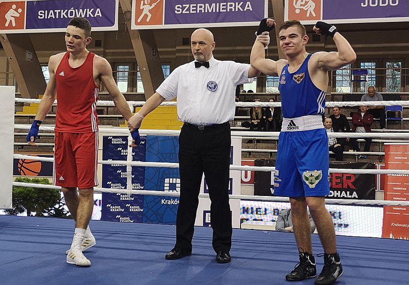 63kg Filip Oszczepalski (Fighter Kielce) vs Bartłomiej Przybyła (JKB Jawor Team Jaworzno)