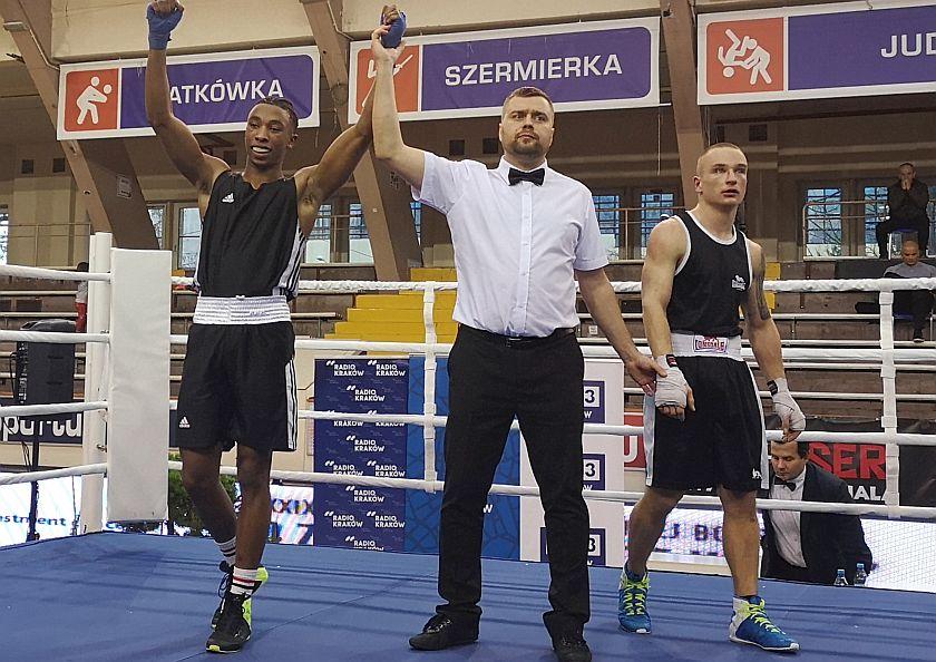 69kg Zidane Semedo (Francja) vs Miłosz Edelmuller (Golden Team Nowy Sącz)