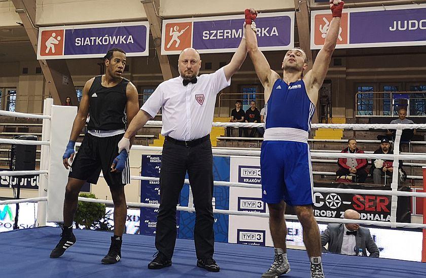 81kg Ralph Etienne (Francja) vs Klemens Szczepaniak (Tiger Tarnów)