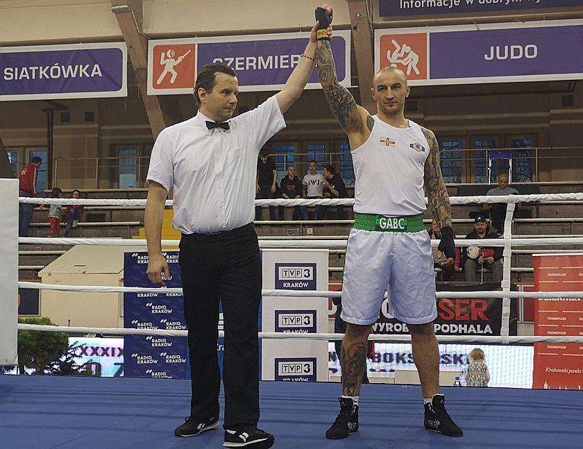 91kg Mateusz Kowalczyk (Desant Kraków) vs Tomasz Kot (Guernsey - Anglia)