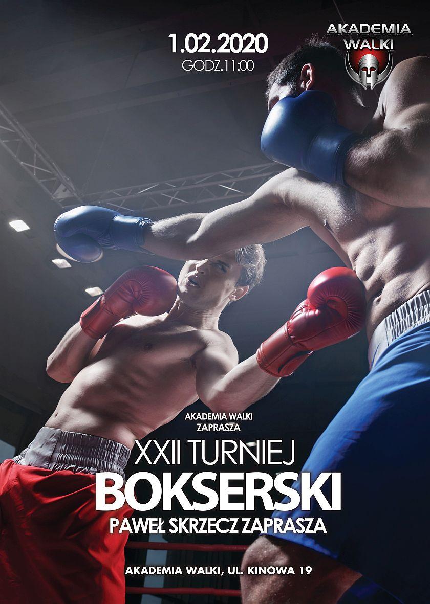 XXII Turniej Bokserski Paweł Skrzecz Zaprasza