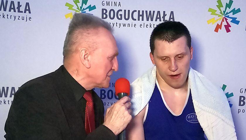 V Miedzynarodowy Turniej Bokserski o Puchar Burmistrza Boguchwały - Niechobrz