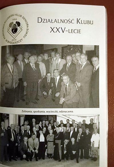25-lecie Pomorsko-Kujawskiego Klubu Seniora Boksu