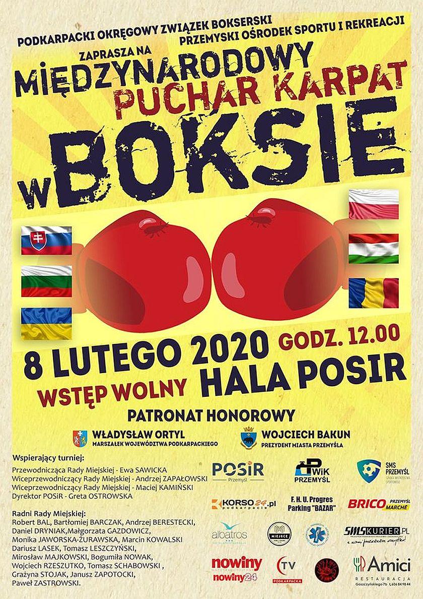 Międzynarodowy Puchar Karpat - boks w Przymyślu