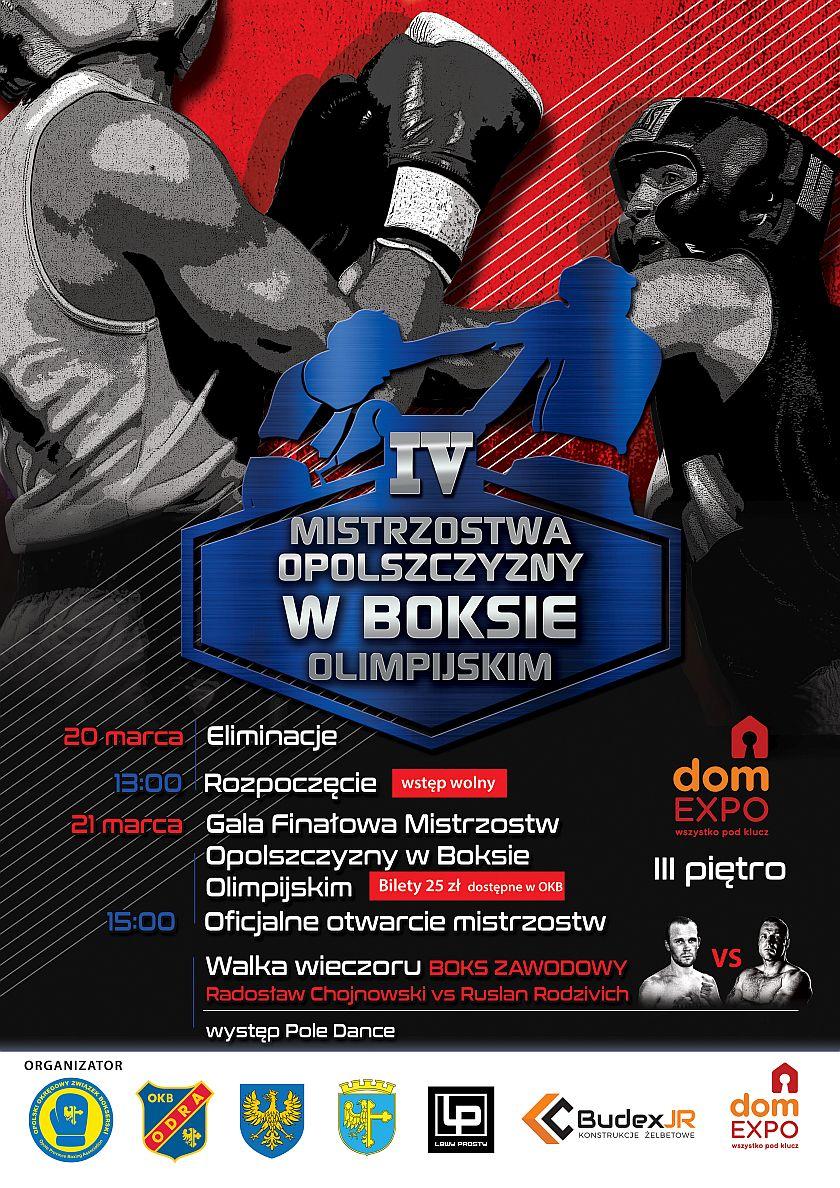 Mistrzostwa Opolszczyzny w Boksie Olimpijskim - domEXPO, Kępska 8