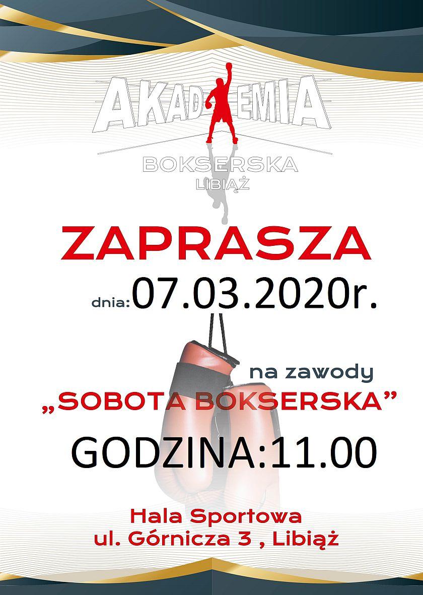 Sobótka Bokserska dla najmłodszych w Libiążu