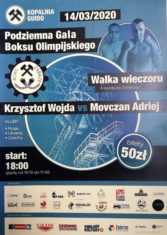 Podziemna Gala Boksu Olimpijskiego w Kopalni Guido poziom -320