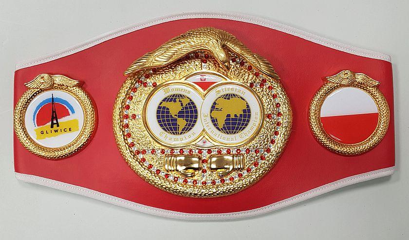 Pas mistrzyni Międzynarodowego Turnieju Kobiet w Boksie 2020 Gliwice