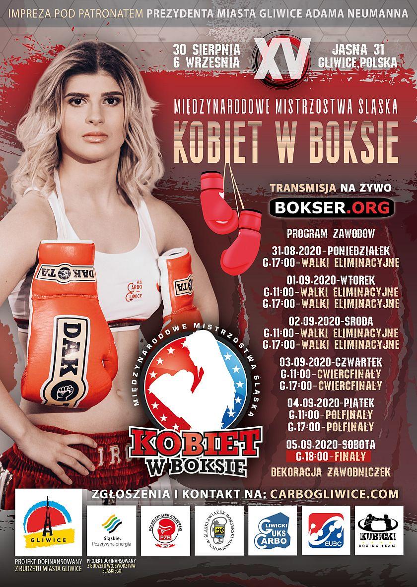Międzynarodowe Mistrzostwa Śląska Kobiet w Boksie - Fight Boxing Silesia Women POLAND