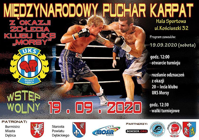 Międzynarodowy Puchar Karpat w Boksie 2020 Dębica