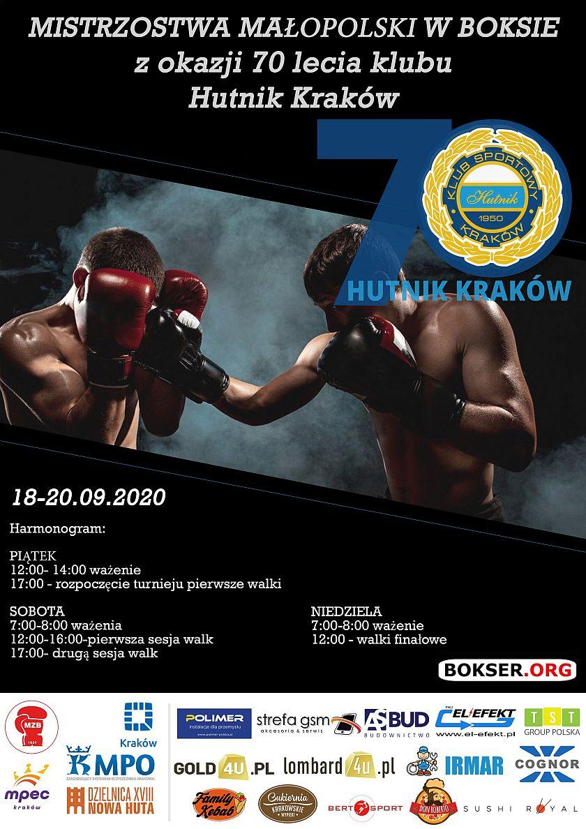 Mistrzostwa Małopolski w Boksie - Hutnik Kraków