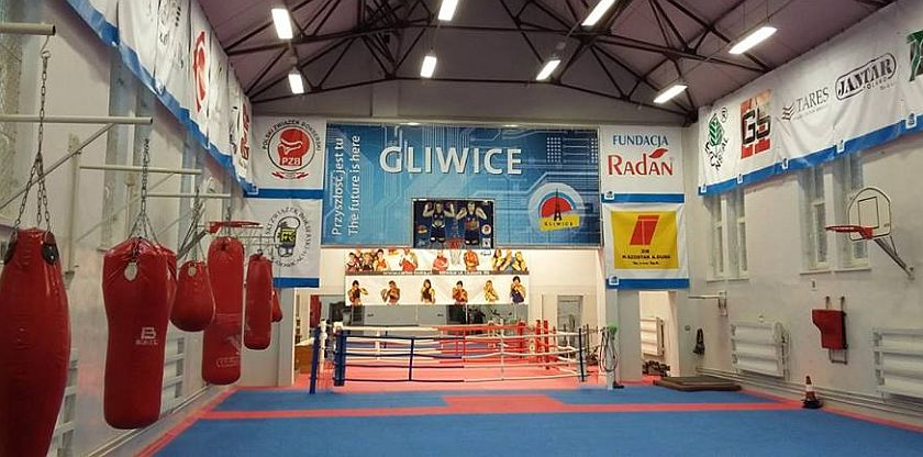 Nowa sala bokserska przy Kozielskiej - Gliwice