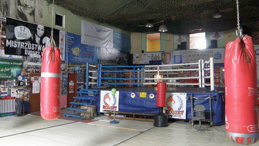 Historyczna sala bokserska przy Dubois w Gliwicach