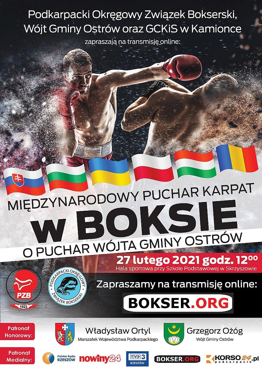I Turniej IV edycji Międzynarodowego Pucharu Karpat o Puchar Wójta Gminy Ostrów