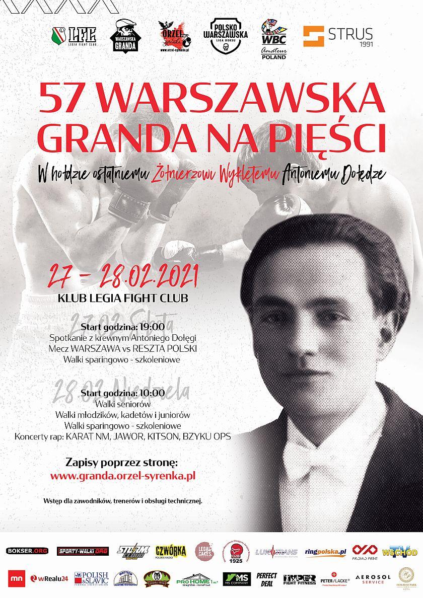 Polsko Warszawska Granda na pięści przy Łazienkowskiej na Towarze - Legia Fight Club