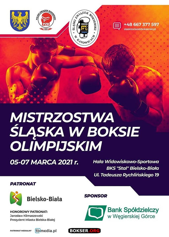 Misrzostwa Śląska w Boksie 2021 Bielsko Biała