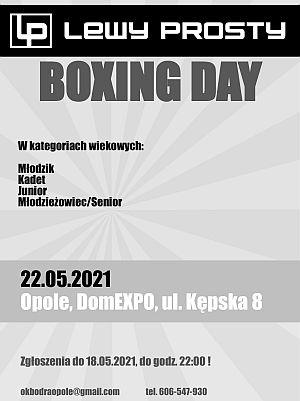 Lewy Prosty Boxing Day