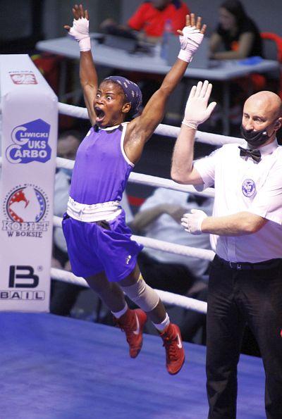 Międzynarodowe Mistrzostwa Śląska Kobiet w Boksie wyniki walk finałowych seniorek Olympic Boxing