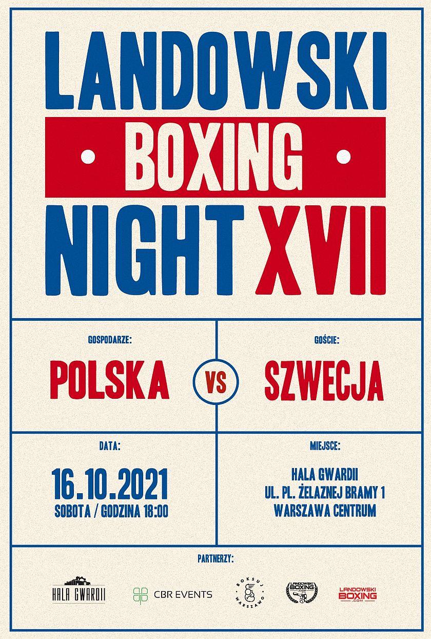 Łukasz Landowski Boxing Night Hala Gwardii Warszawa